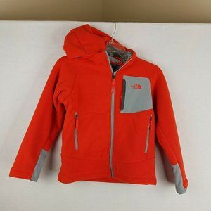 The Northface Warm Fleece Hooded Jacket Small 7/8